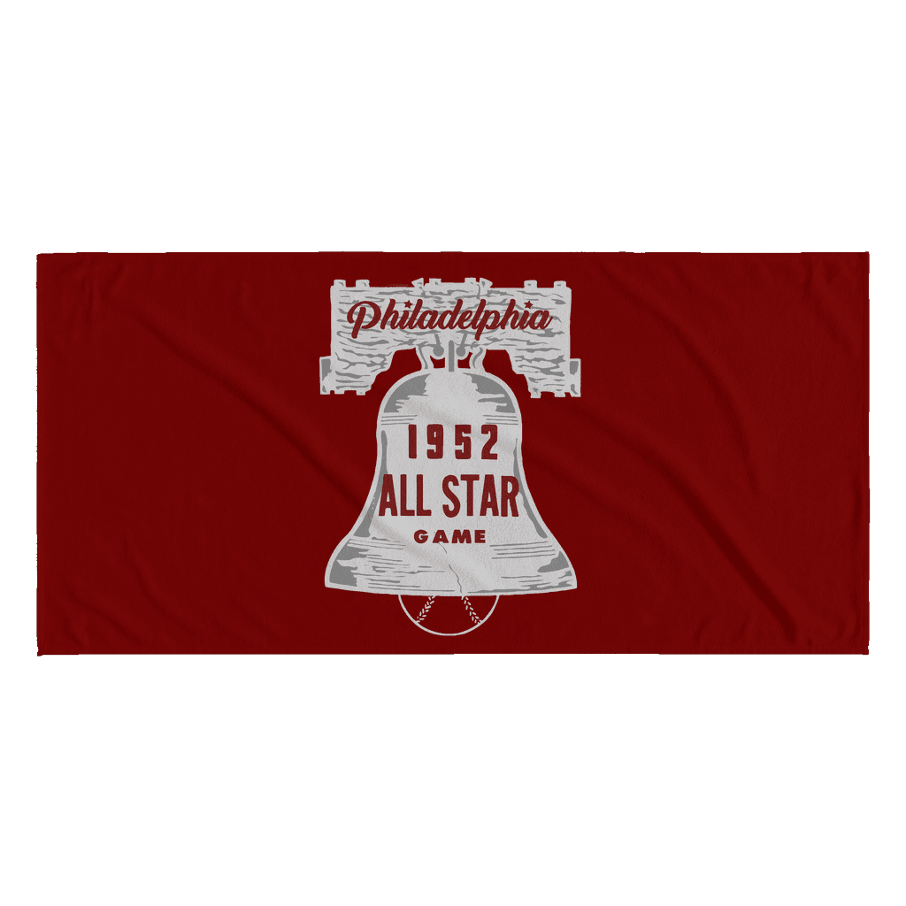 1952 All Star Game Retro Beach Towel - Generation T