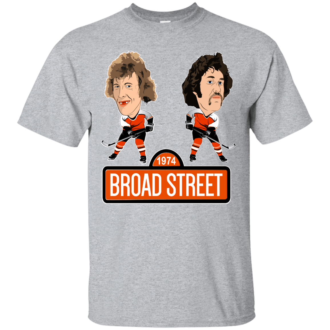 1974 Broad Street Custom Ultra Cotton T-Shirt - Generation T