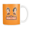 1974 Broad Street Hockey Orange Coffee Mug - Generation T
