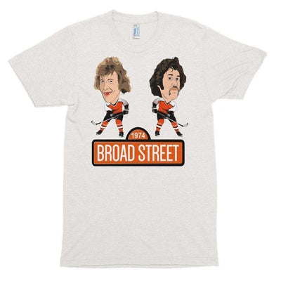 1974 Broad Street Hockey Unisex Tri Blend Tee Shirt - Generation T