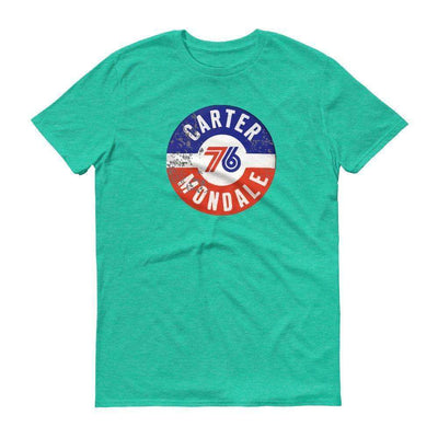 1976 Carter Mondale Bicentennial Philly Short-Sleeve T-Shirt - Generation T
