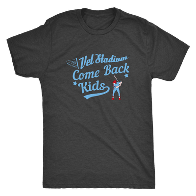 1980 Come Back Kids Philadelphia Vet 1 Tri Blend T-Shirt - Generation T