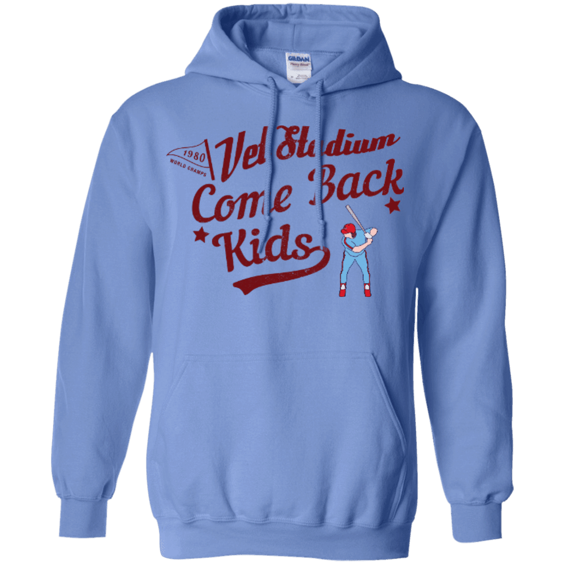 1980 Come Back Kids Pullover Hoodie - Generation T