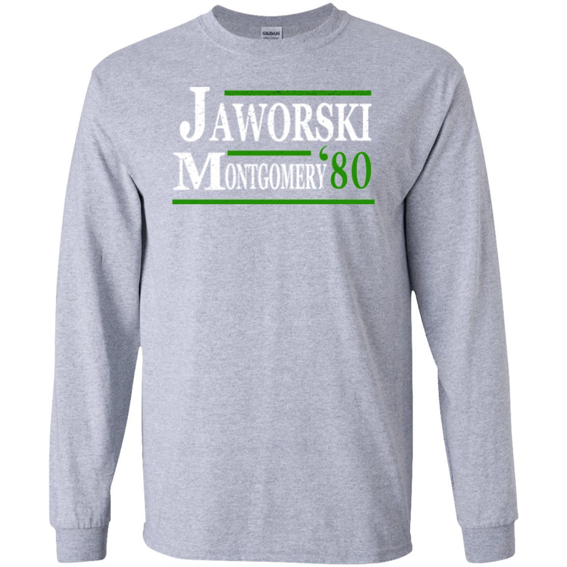 1980 Jaworski Montgomery Party Long Sleeve Ultra Cotton T-Shirt - Generation T