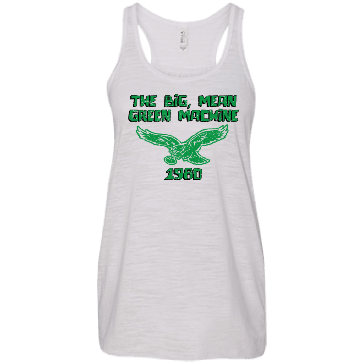 1980 Philadelphia Eagles Inspired Flowy Racerback Tank - Generation T