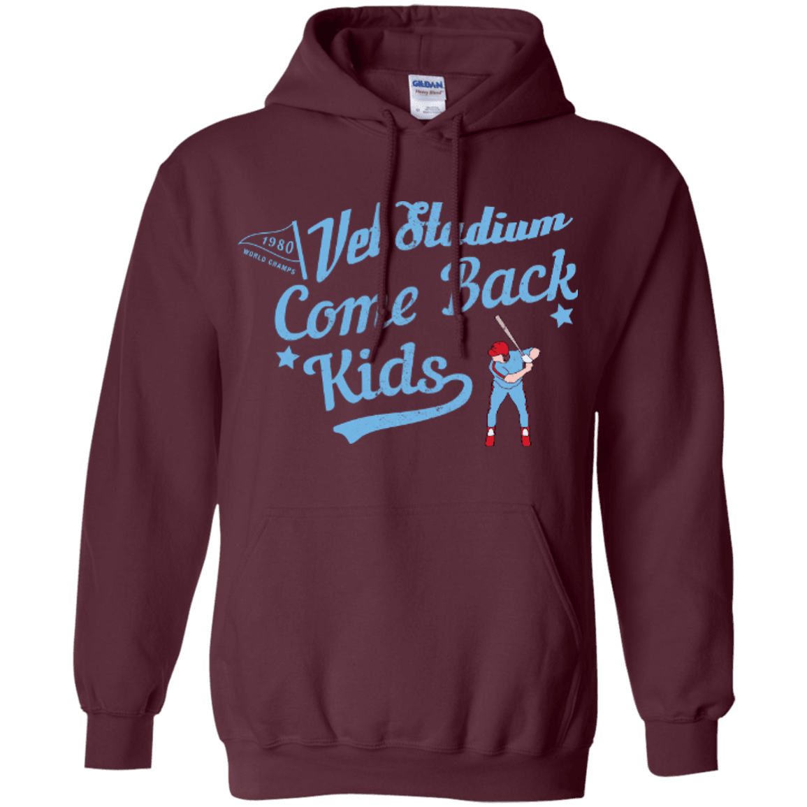 1980 Phillies Inspired Pullover Hoodie - Generation T