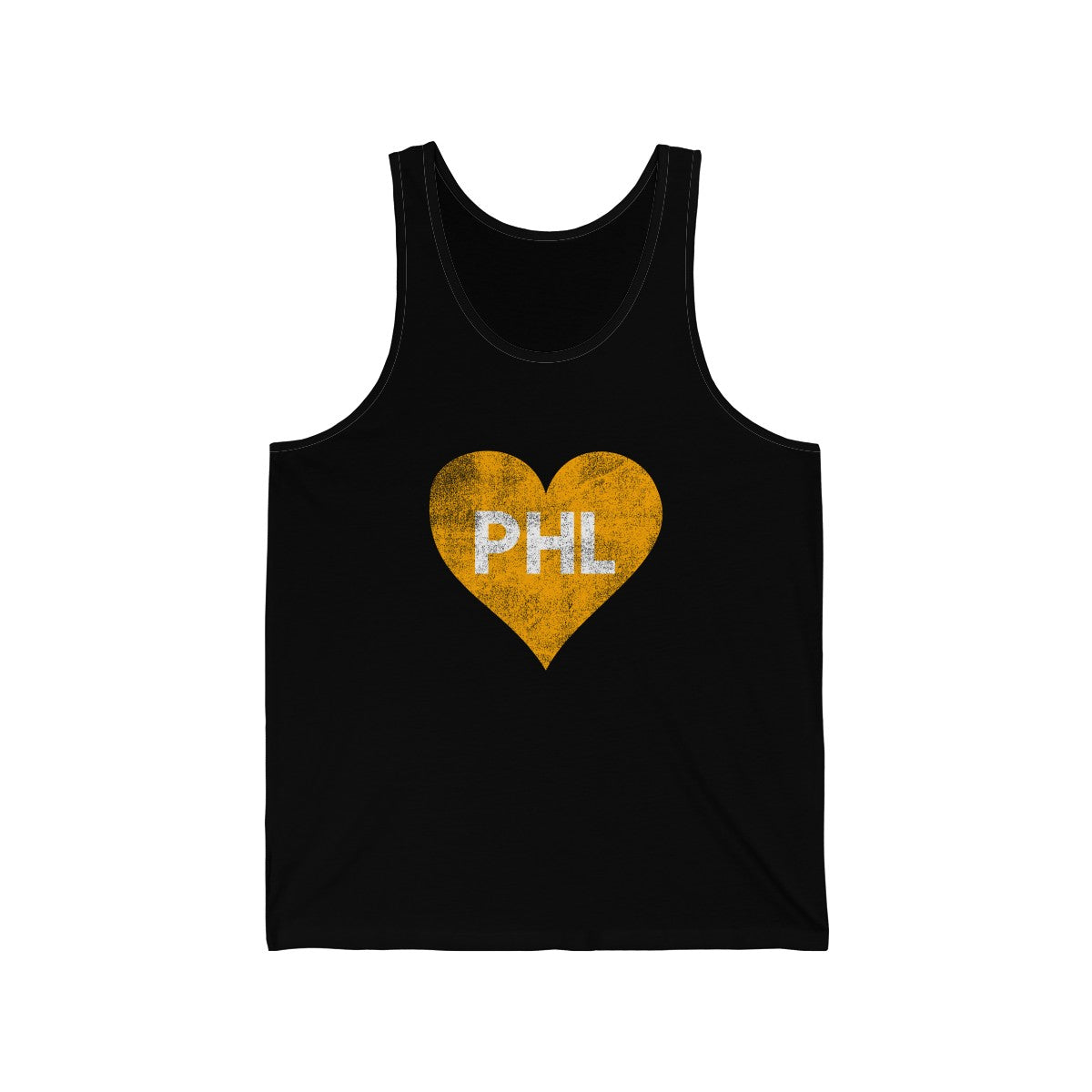 Philly Hockey Love Heart Unisex Jersey Tank