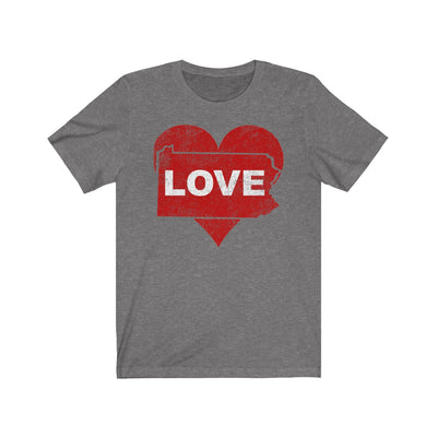 Pennsylvania Love Unisex Jersey Short Sleeve Tee