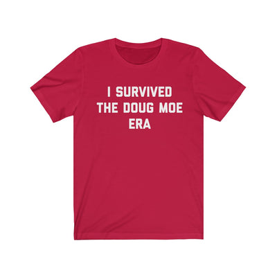 I Survived The Doug Moe Era Unisex Jersey Short Sleeve Tee
