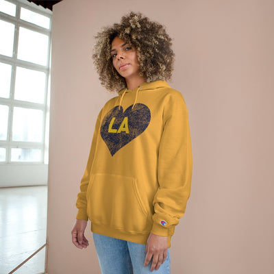 Love LA Heart Champion Collab Hoodie