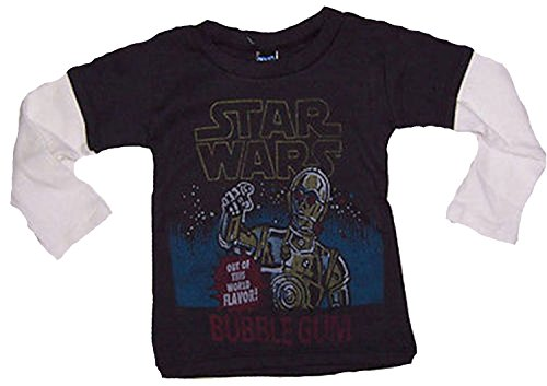 Junk Food Star Wars Bubble Gum Infant 2fer Shirt