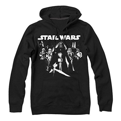 Star Wars Episode 7 Close Ranged Adult Hoodie - Generation T