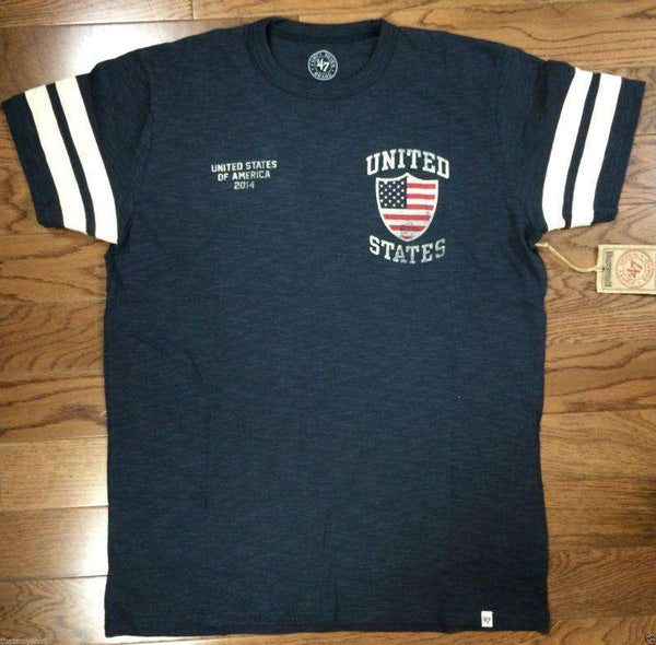 47 Brand Mens World Cup United States Ballgame Tee Shirt - Generation T