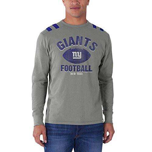 47 Brand New York Giants Football Bruiser Mens Long Sleeve T-Shirt - Generation T