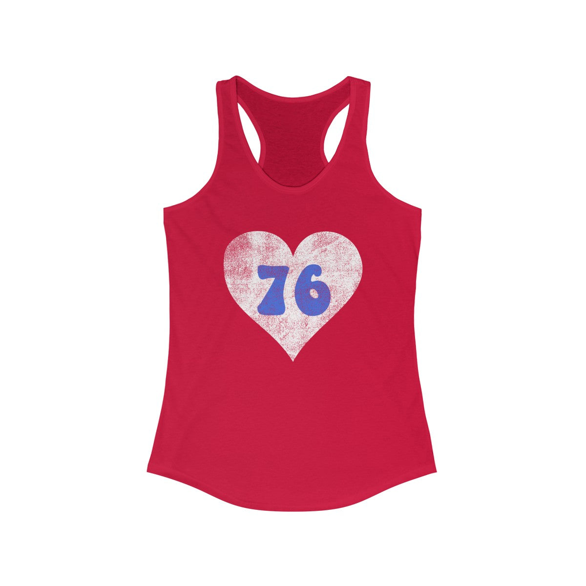 Philly 76 Love Women's Ideal Racerback Tank