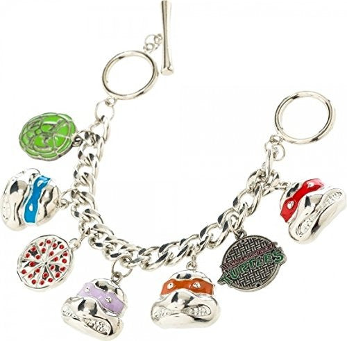 Teenage Mutant Ninja Turtles Character Charm Bracelet - Generation T