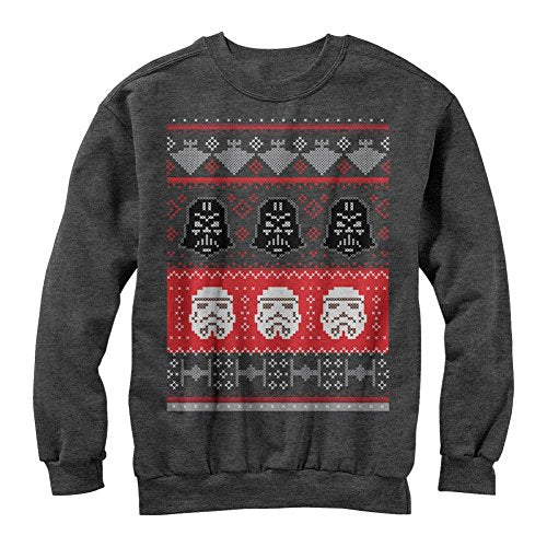 Star Wars Holiday Helmet Ugly Christmas Sweatshirt