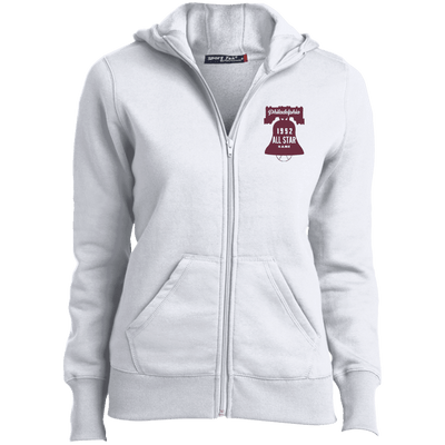 52 All Star Game Ladies Full-Zip Embroidered Hoodie - Generation T