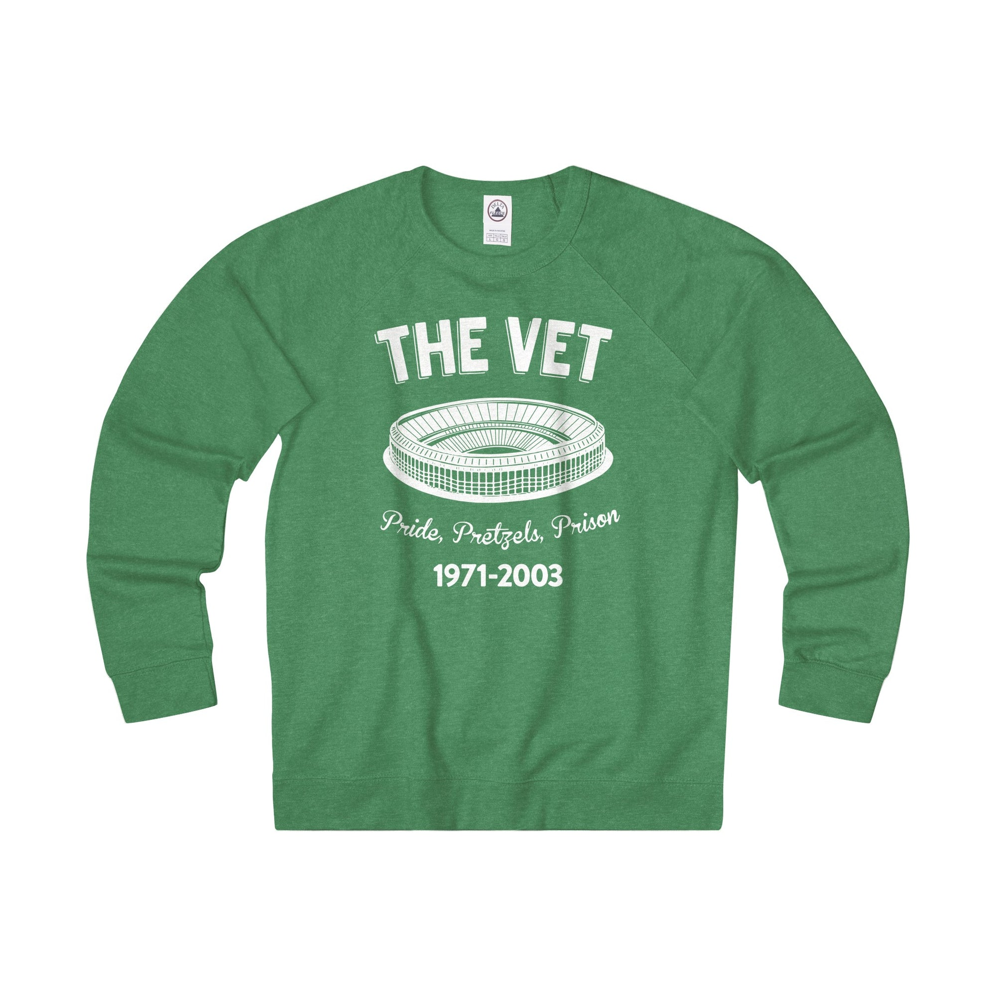 The Vet Retro Adult Unisex French Terry Crew - Generation T
