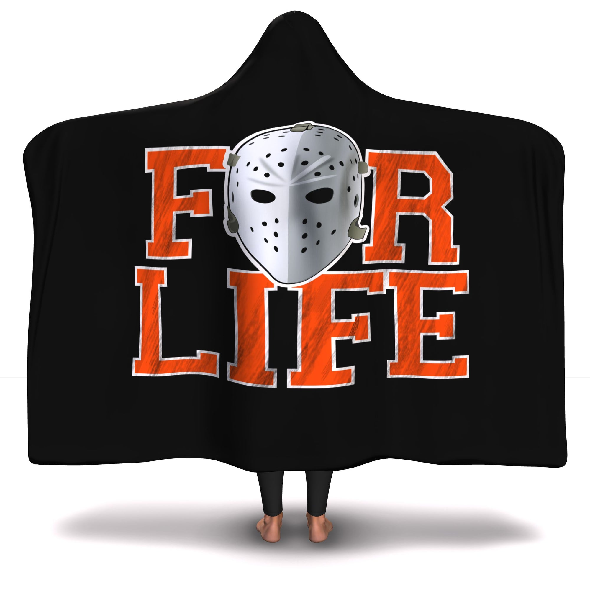 Philly Hockey For Life Hooded Blanket