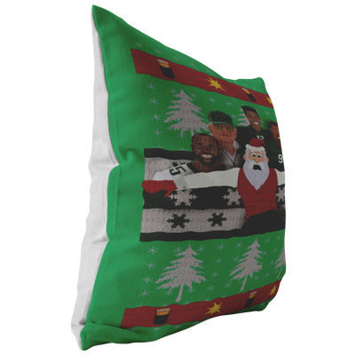 A Philly Football Christmas Pillow