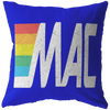 MAC ATM Retro Logo Pillow