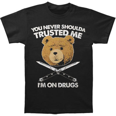 Ted I'm On Drugs T-shirt - Generation T
