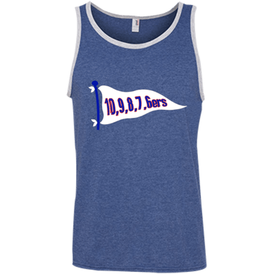6ers Retro 100% Ringspun Cotton Tank Top - Generation T