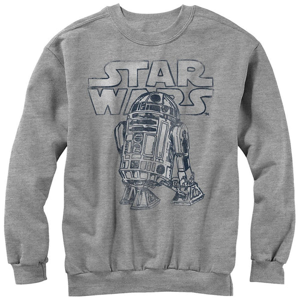 Star Wars Robot Life- Crew Fleece Sweatshirt - Generation T