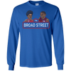 76 Broad Street Long Sleeve Ultra Cotton Tshirt - Generation T