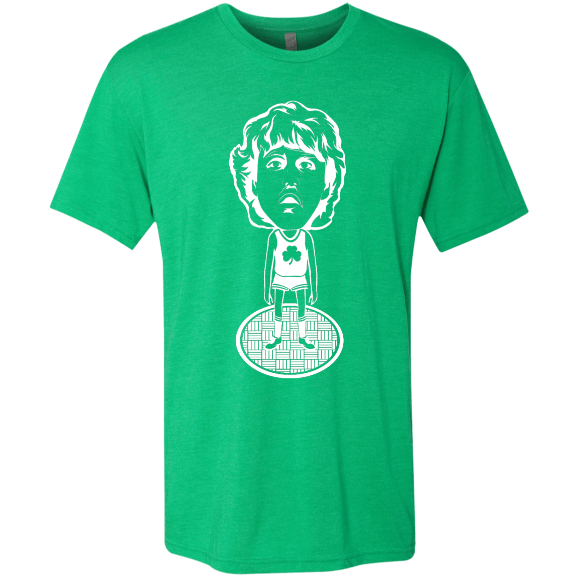 80s Boston Hoops Bobblehead Men's Tri-Blend Tee - Generation T