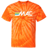 80s MAC Machine 100% Cotton Tie Dye T-Shirt - Generation T