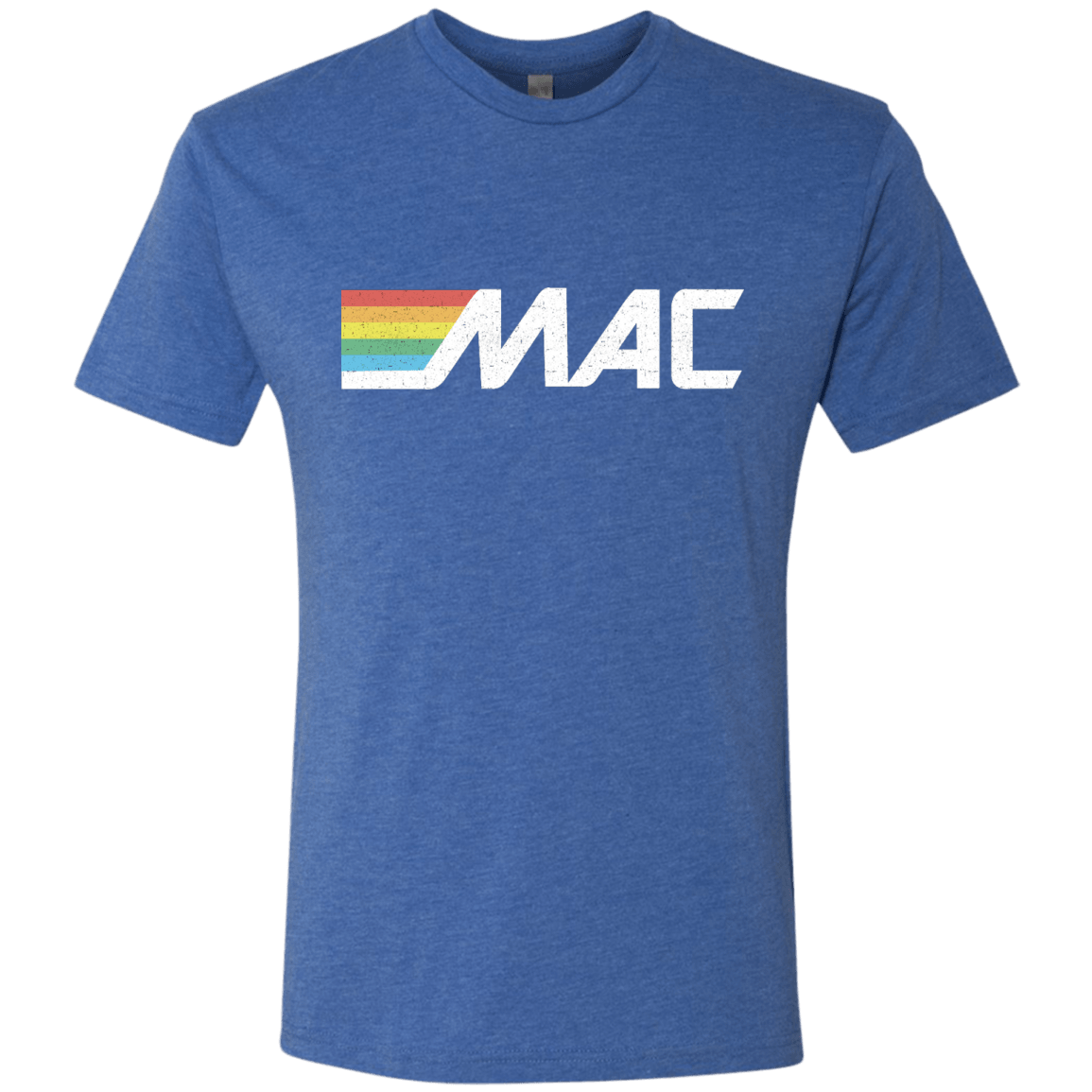 80s MAC Machine Next Level Men's Tri-Blend Tee - Generation T