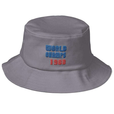83 World Champs Sixers Inspired Old School Bucket Hat - Generation T