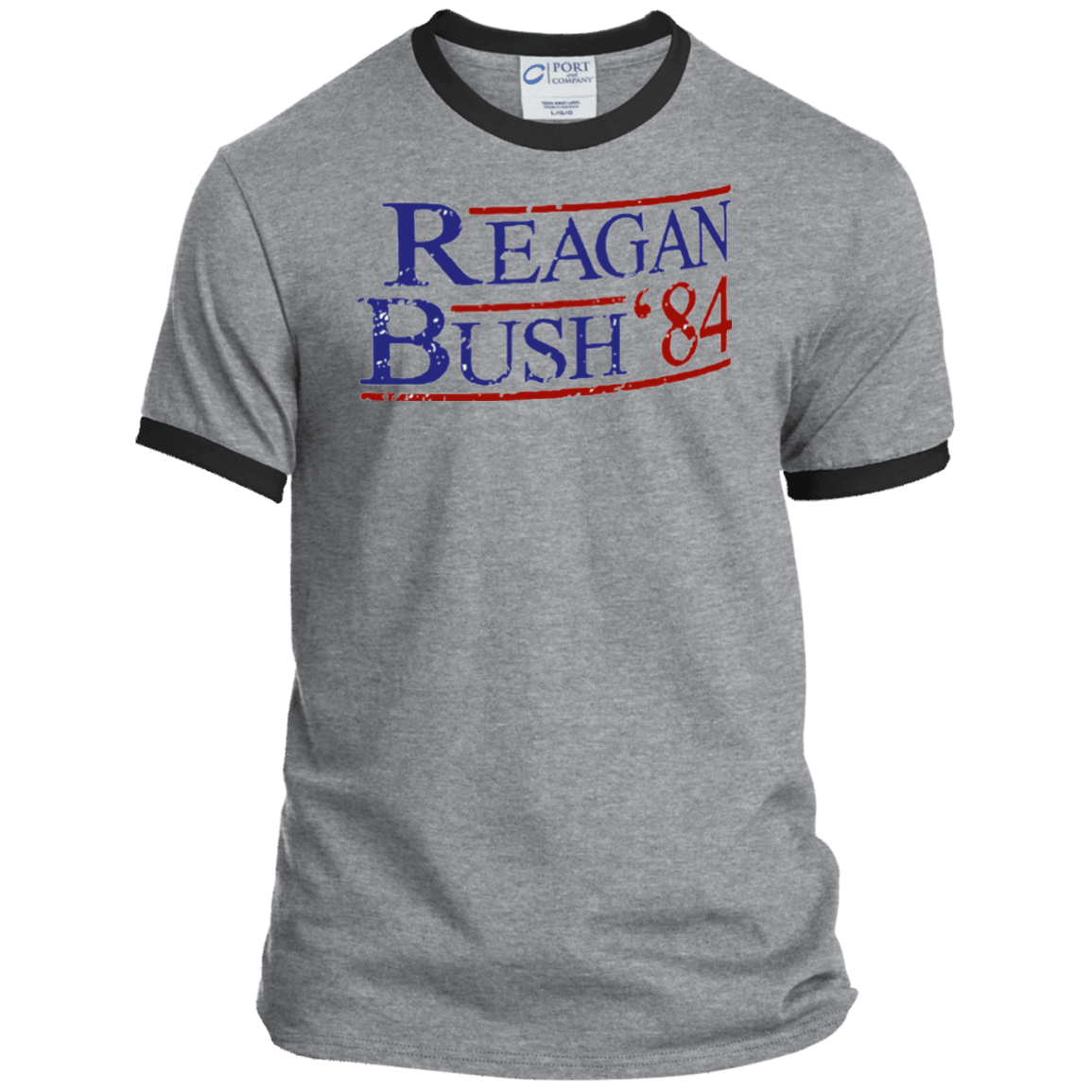 84 Reagan Bush Ringer Tee Shirt - Generation T