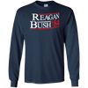 84 Regan Bush Retro Long Sleeve Ultra Cotton T-Shirt - Generation T