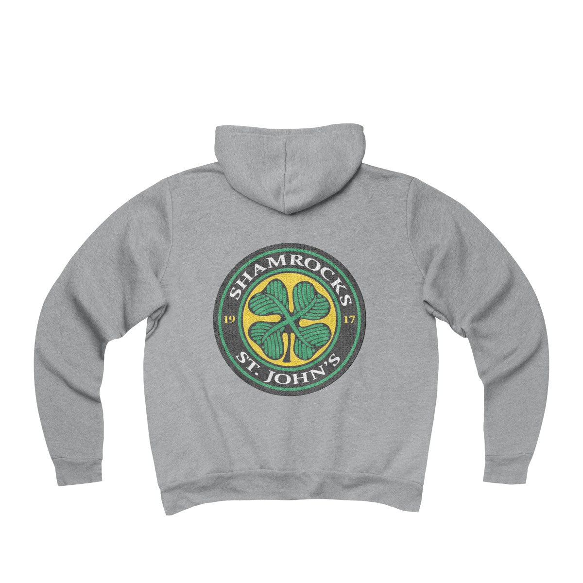 Goon Inspired St. Johns Shamrocks Unisex Sponge Fleece Full-Zip Hoodie
