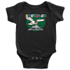 Retro Steagles Inspired Infant Snapsuit