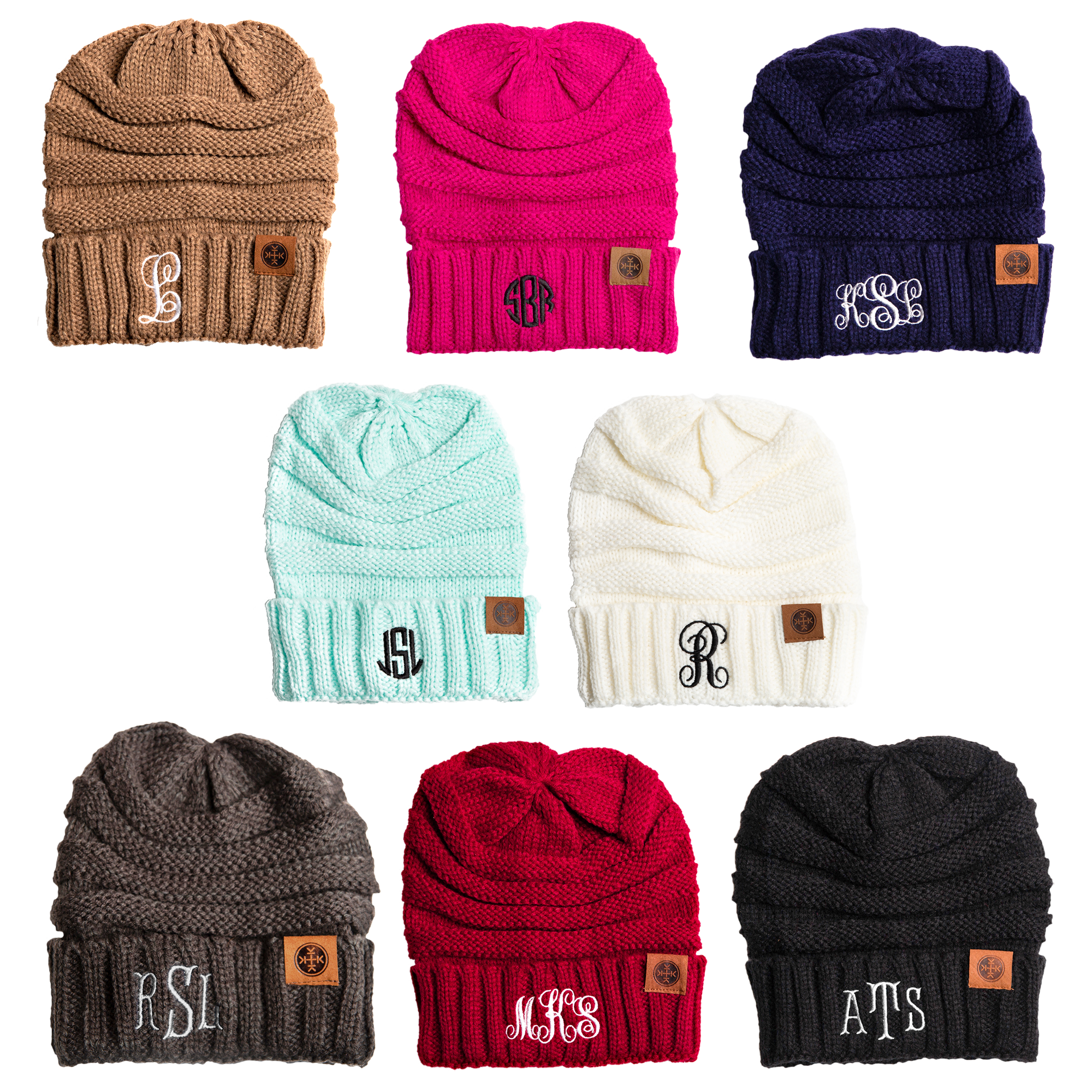 Personalized Monogram Adult Beanie
