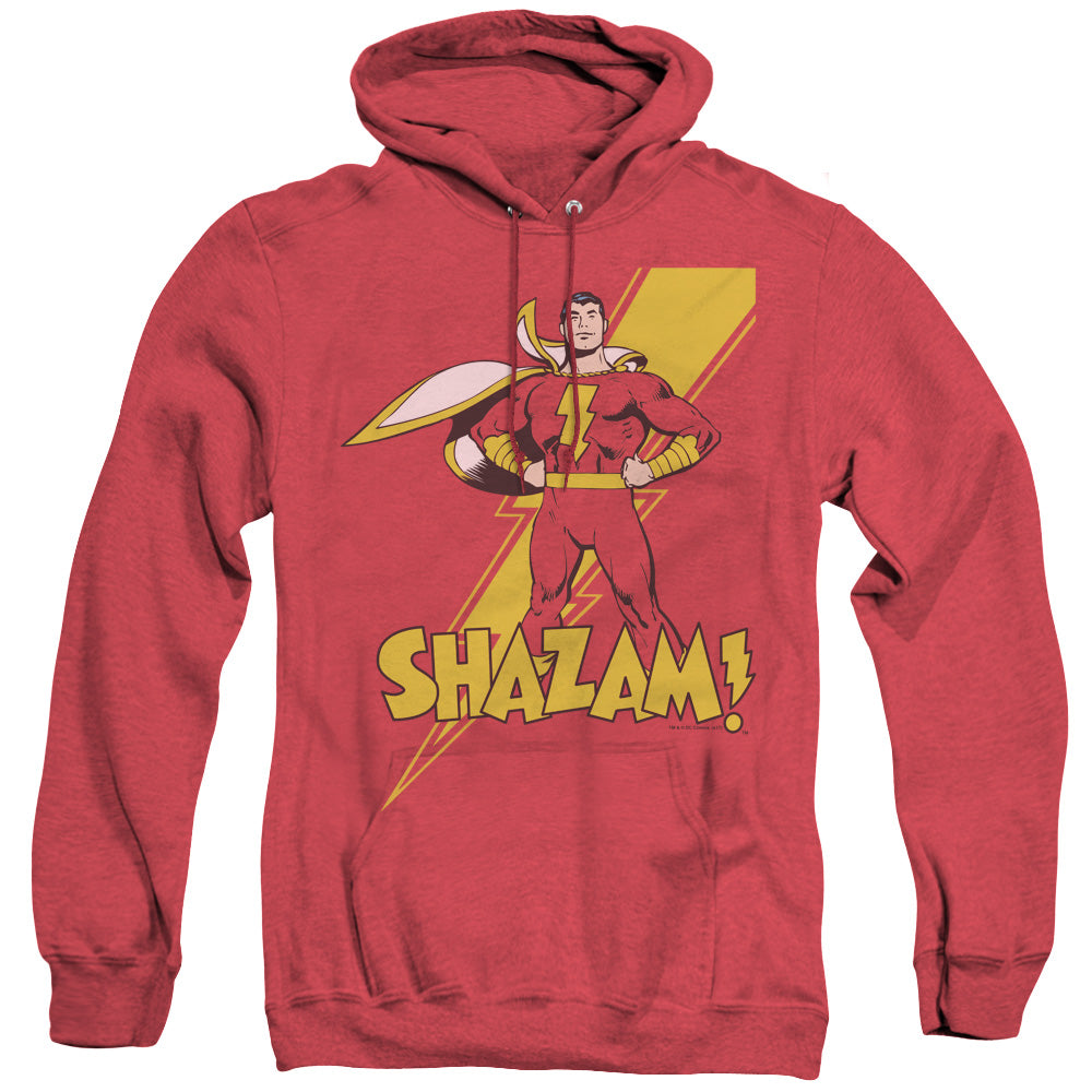 Shazam Adult Heather Hoodie