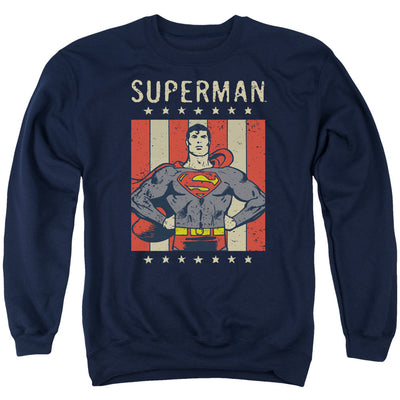 Superman Retro Liberty Sweatshirt - Generation T