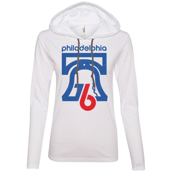 Philly 76 Ladies LS T-Shirt Hoodie - Generation T