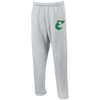 Old School E Foorball Embroidered Open Bottom Sweatpants with Pockets