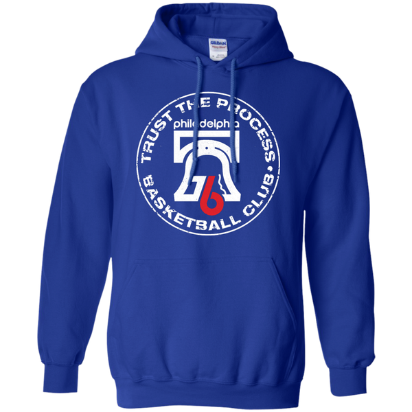 Trust the Process Hoops Club Royal Pullover Hoodie