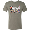 Never Forget Philly Next Level Men's Tri-Blend Tee - Generation T