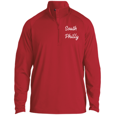 South Philly 1/2 Zip Raglan Performance Pullover