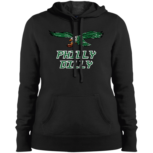 Philly Dilly Ladies' Pullover Hooded Sweatshirt