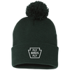 Fly Birds Fly Pom Pom Knit Cap
