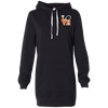 Philly Hockey Love Embroidered Women's Hooded Pullover Dress