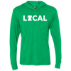 Philly Local Football Edition Unisex Triblend LS Hooded T-Shirt